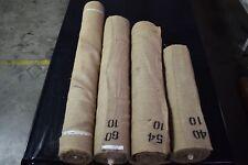 "10 OZ. Standard Burlap Natural Jute Fabric Vintage Upholstery 40"" - 72"" Wide"