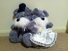 Wedding Schnauzer Couple 40cm