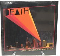 For The Whole World To See Death Vinyl Record LP New Sealed Drag City Inc