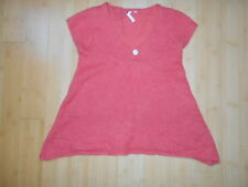 White Stuff Coral Cap Sleeve V-Neck A-Line Knitted Top - UK10
