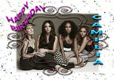 LITTLE MIX 1   - Personalised Birthday Greeting Card A5 Friend / son / any