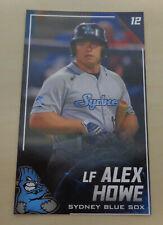 2019/20 Sydney Blue Sox (Aussie Baseball) ALEX HOWE - Uni of Texas Pan American