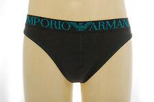 Perizoma slip uomo thong EMPORIO ARMANI 111215 4P540 taglia M col.04543 CARBONE