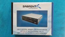 "Sabrent 7-In-1 3.5"" Internal Flash Media Card Reader/writer with USB Port"