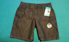Women's Riders By Lee slimming walking shorts 8M NWT
