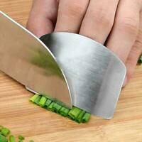 Kitchen Finger Hand Protector Guard Stainless Steel Shield Tool Cook Chop S S4D0