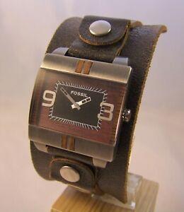 Armbanduhr Herrenuhr von Fossil in Edelstahl ***