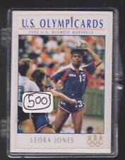 (500) 1992 US OLYMPIC HOPEFULS LEORA JONES CARDS #80 ~ GIANT LOT TEAM HANDBALL