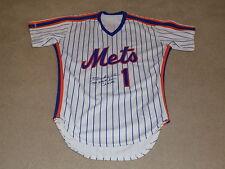 Mookie Wilson Game Worn Signed Jersey 1986 New York Mets