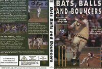 BATS,BALLS AND BOUNCERS CRICKET MATCHES DVD 50MINS COLOR