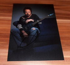 Steve Lukather * Guitar TOTO *, originale signed photo in 20x25 cm (8x10)