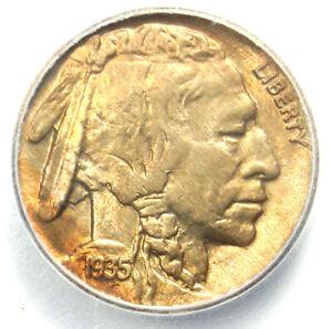 1935 Buffalo Nickel 5C Coin - Certified ICG MS67 (Gem BU) - $910 Guide Value!