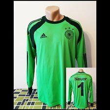 Manuel Neuer DFB Deutschland Torwart Trikot WM 2014 Grün Adidas Germany Jersey