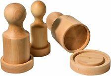 Runde Saat -/Anzuchttöpfe & Zubehöre aus Holz