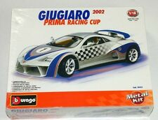 Burago Giugiaro 2002 1:18 Scale Die Cast Metal Model Kit NEW Rare Italy 70113