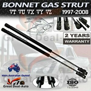 Pair Bonnet Gas Struts for Holden Commodore VZ VT VX VY VU Calais Statesmen NEW