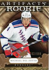 Michael Del Zotto 09/10 Artifacts Hockey RC #211