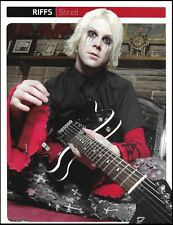 John 5 (Rob Zombie band) with Fender Telecaster guitar 8 x 11 pin-up photo print
