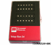 NEW Seymour Duncan VINTAGE BLUES Humbucker Pickup Set SH-1 '59 Neck & Bridge