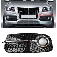 Left SQ5 Style Fog Light Grill Grille For AUDI Q5 13-17 Don't Fit SQ5 & SLINE  A