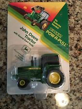 Ertl John Deere Pow-R-Pull Tractor 1:64 Scale New On Card #4092