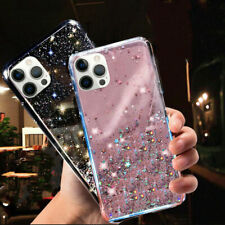 GLITTER STARS CASE For iPhone 12,11,Pro Max,XR,7,8 Plus,XS SE BLING Phone Cover