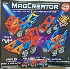 Cra-Z-Art 26 Pc Magcreator Set Building-and-Stacking-Toys 6+