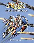 ☆GD EX÷LIB KIDS(4TH GRADE)HC BOOK:AKIKO ON THE PLANET SMOO)FUN ALIEN ADVENTURE!☆