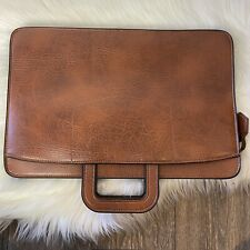 Vintage Pegasus Attache/Briefcase/Portfolio/Document Bag Brown Leather USA