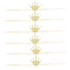6 Stücke Glitter Kronen Papier Party Krone Hut Kappe für Geburtstagsfeier