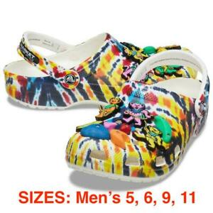 Chinatown Market CTM Grateful Dead Crocs Classic Clog Size 5 / 6 / 9 / 11