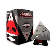 Pyramidun - Grey Edition - KIDROBOT - Andrew Bell - Vinyl Figur