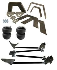Rear Universal Weld On Kit 8 Frame C Notch Triangulated 4 Link Air Lift D2500