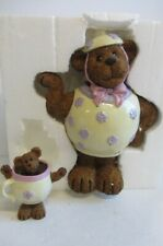 """Mrs. Stout and Lil' Steamy by Boyd's Bears """"The Sweetest Kind of Tea�"""