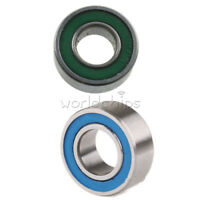 10x MR105-2RS Rubber Sealed Ball Bearing Miniature Bearing 5 x 10 x 4mm Blue TDH