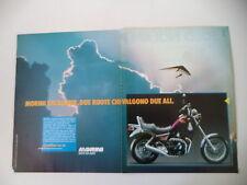 advertising Pubblicità 1987 MOTO MORINI EXCALIBUR 350
