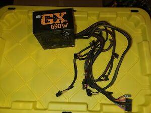Cooler Master GX 650W ATX Power Supply 80 Plus Bronze