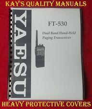 Yaesu FT-530 Instruction Manual *32 LB PAPER** **C-MY OTHER MANUALS**