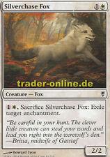 4x Silverchase Fox (Jagender Silberfuchs) Conspiracy Magic
