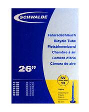 """Schwalbe SV13 Presta (Extra Larga 60mm) Tubo - 26"""" Interior (40-559 A 62-559)"""