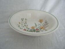 C4 Pottery Barratts Spring Flowers Bowl 17x4cm 3C6A Crazed