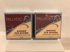 2x  Palladio PRESSED Rice Powder  new sealed pkg  natural