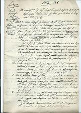 Relazione Ingegnere Giuseppe Milani sulle Acque del Canale Brembiolo Lodi 1824
