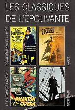 4 DVD box classics of terror - Les classiques de l'épouvante Vol 1 / IMPORT