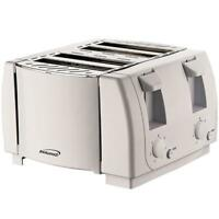 Brentwood Appliances TS-265 Brentwood Cool Touch 4-slice Toaster Wht (ts265)