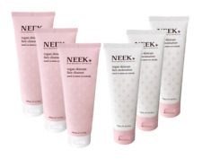 NEEK Vegan Skincare Set 6 pieces (3x Cleanser and 3x Moisturiser) RRP £89.94