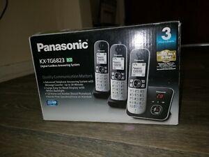 Panasonic kx-tg6823 - Trio DECT Cordless Telephone with Answer Machine