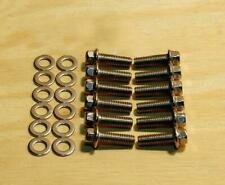Chevy GM LS1 LS6 LSx Exhaust Manifold Header Hardened Stainless Steel Bolts KIT