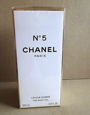 CHANEL NO 5 LIMITED EDITION THE BODY OIL PERFUME 200 ML 6.8 OZ SEALED NEW IN BOX