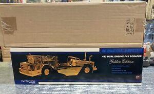 International Harvester 433 Pay Scraper 24K Gold Plated 1/25 First Gear NIB
